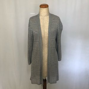 CROFT & BARROW Gray Cardigan
